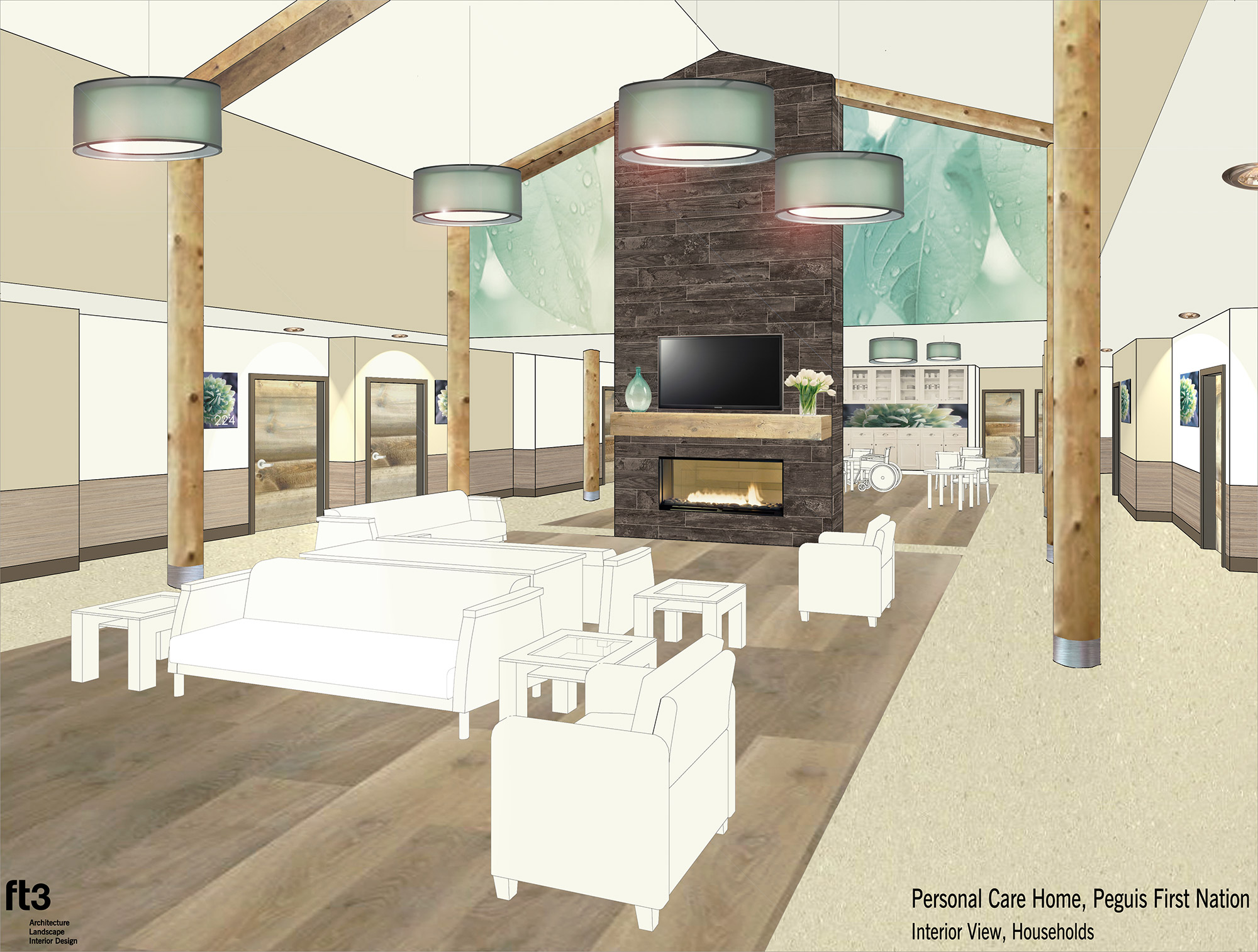 New personal care home project report peguis first nation New house project