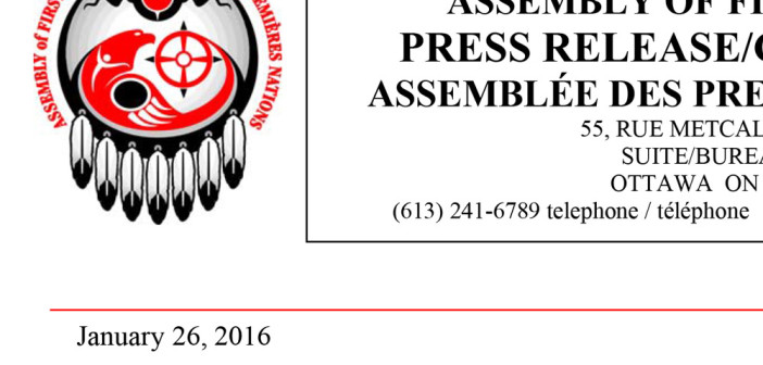Assembly of First Nations Welcomes Historic Decision by Human Rights Tribunal, Calls for Action Now to Achieve Fairness for First Nations Children and Families
