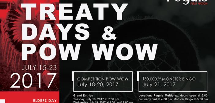 Annual Treaty Days & Competition Pow Wow 2017
