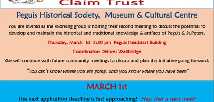 Surrender Claim Trust Newsletter, March 2013