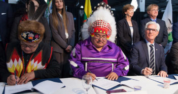 Treaty 1 and Canada Signing of the Kapyong Agreement in Principle