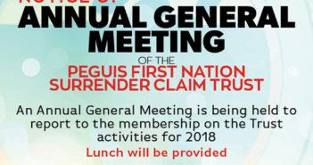 Annual General Meeting – Surrender Claim Trust