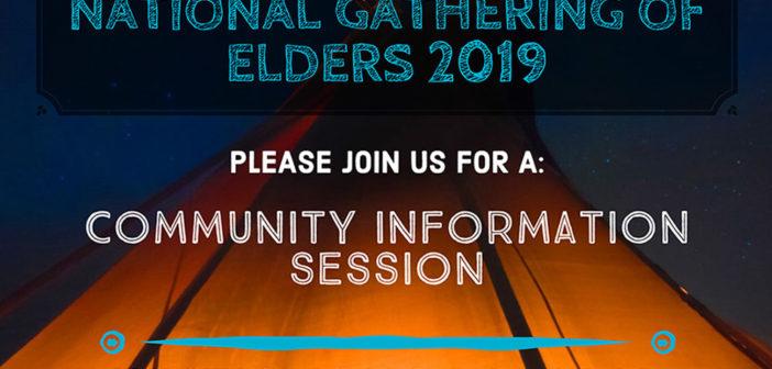 National Elders Gathering 2019 Information Session