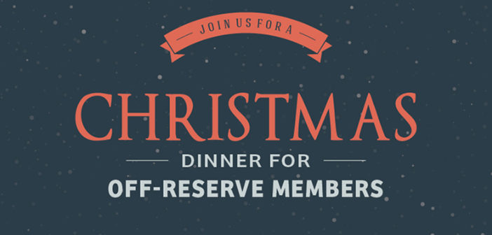 Christmas Dinner for Off-Reserve Members