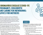 Pregnancy, Childbirth and Caring for Newborns: Advice for Mothers