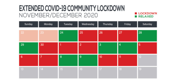 *Extended – COVID-19 COMMUNITY LOCKDOWN