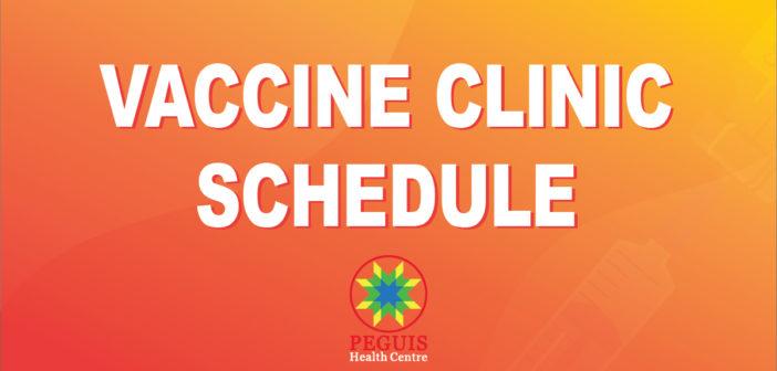 Peguis Vaccine Update