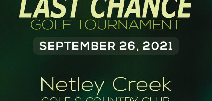 Last Chance Golf Tournament